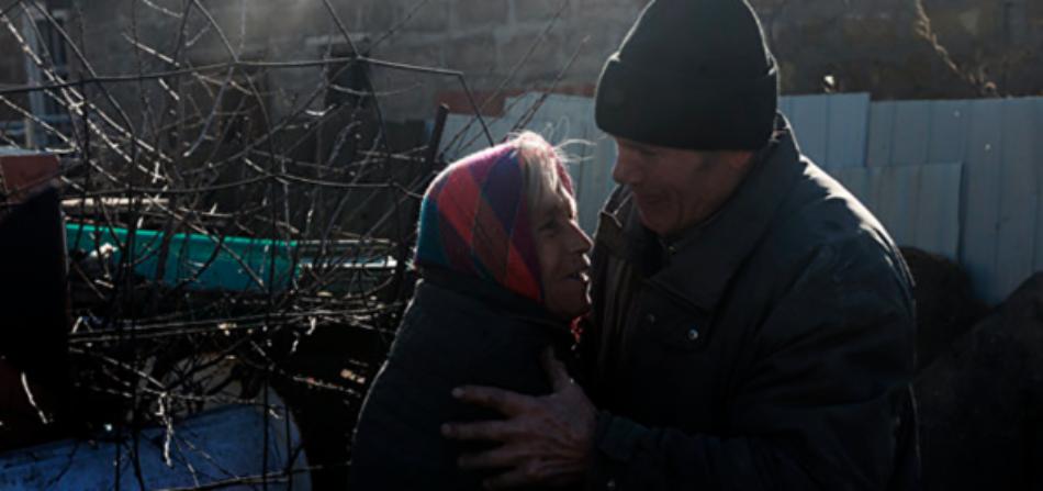 Donbass. La población más vulnerable