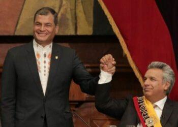 El abismo gubernamental entre Correa y Moreno