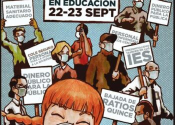 Charla-debata sobre la escuela pública en Móstoles