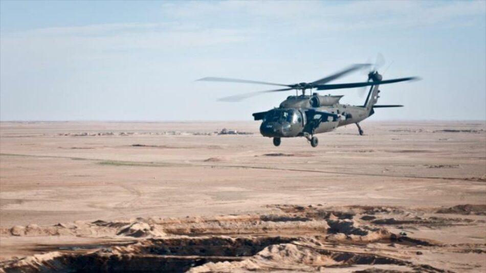 Un helicóptero del Ejército de EEUU se estrella en el norte de Siria