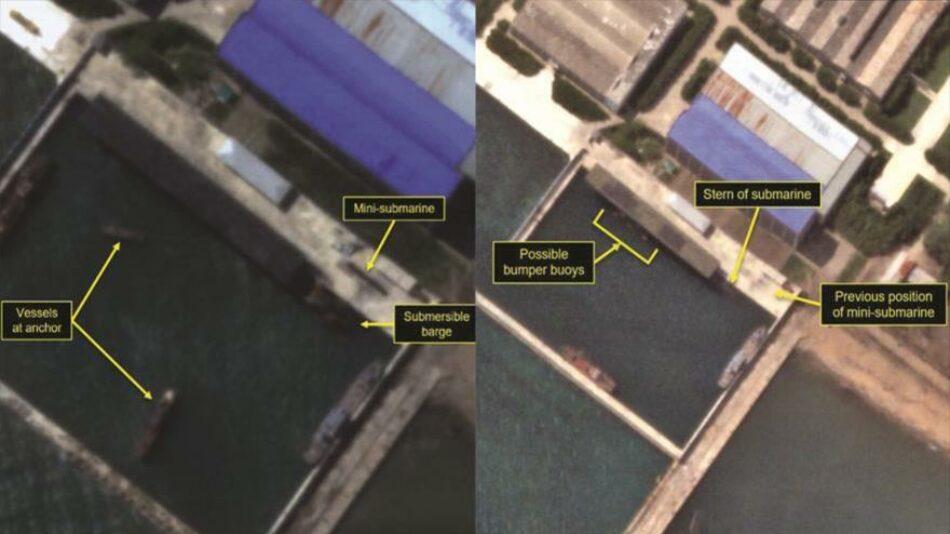 Fotos revelan que Corea del Norte probará en breve misiles SLBM