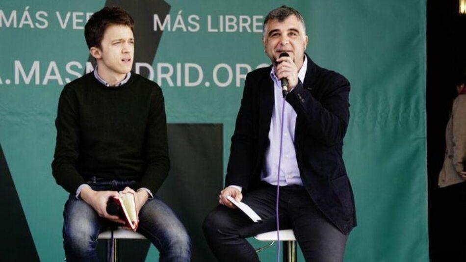 Más Madrid-Ganar Móstoles pregunta al gobierno municipal por la eliminación de tres programas sociales