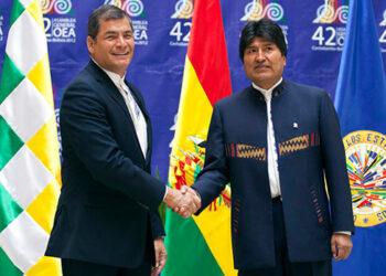 El PCE rechaza las inhabilitaciones de Evo Morales y Rafael Correa