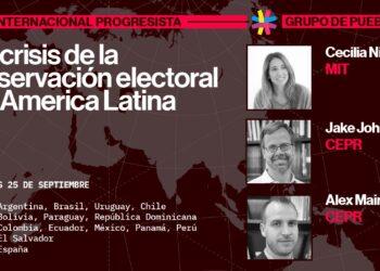 Inédito encuentro sobre la observación electoral en América Latina reunirá al Grupo de Puebla y a la Internacional Progresista