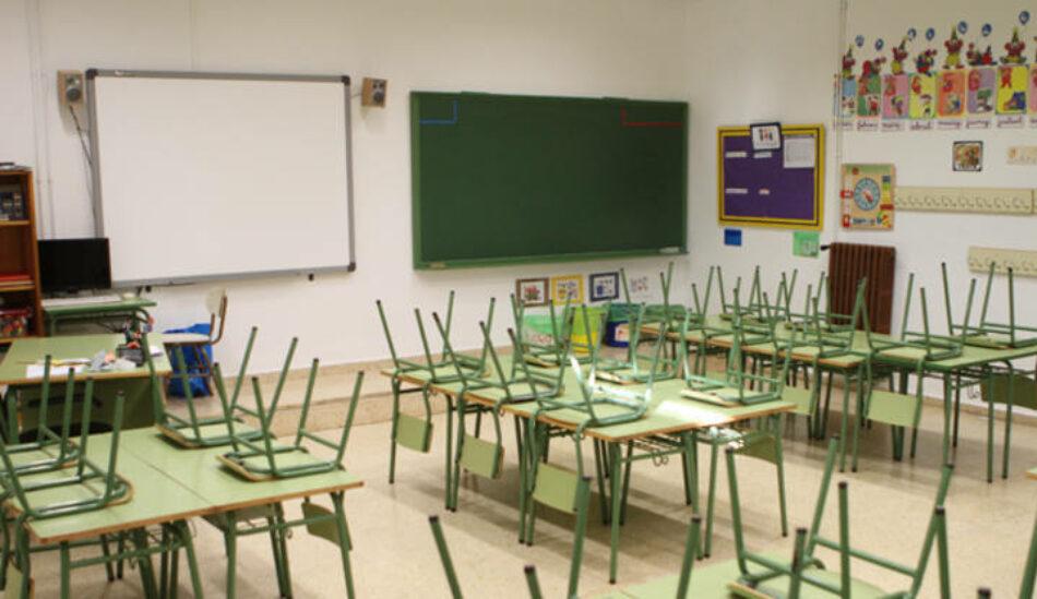 CCOO Madrid interpone un recurso ante TSJM contra el proceso de admisión del próximo curso 2021/2022