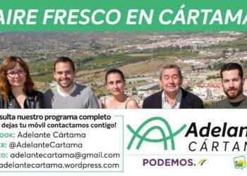 El concejal de Adelante Cártama renuncia a su acta porque el horario de los Plenos es incompatible con su trabajo