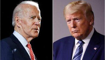 Trump y Biden, el primer cara a cara para las elecciones de EE.UU.