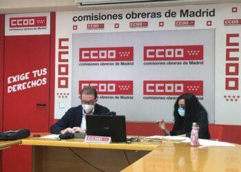 CCOO: «Los centros públicos de Madrid necesitan 12.494 profesores, 1.537 enfermeros y 1.913 conserjes más»