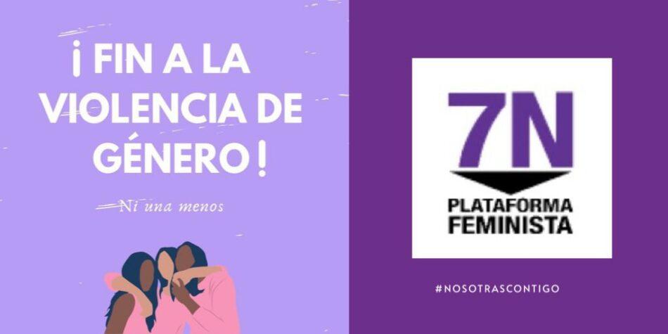 """La Plataforma 7N afirma que los datos dados a conocer hoy con la Macroencuesta sobre Violencia contra la Mujer son """"demoledores"""""""