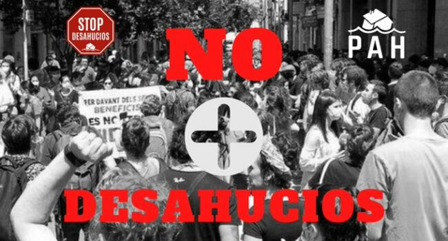 La plataforma vecinal Stop Desahucios Móstoles se reunirá con el ayuntamiento para presentar su plan de choque frente a la situación de emergencia habitacional