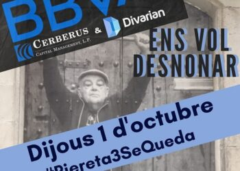 Tercer intento de desahucio en calle Riereta nº3 (Barcelona)