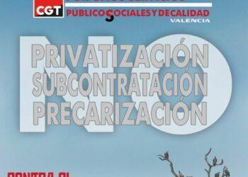 CGT denuncia precariedad y subcontratación en EMT València
