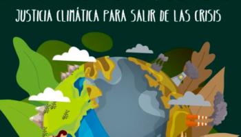 25 de septiembre: «Justicia climática para salir de las crisis»