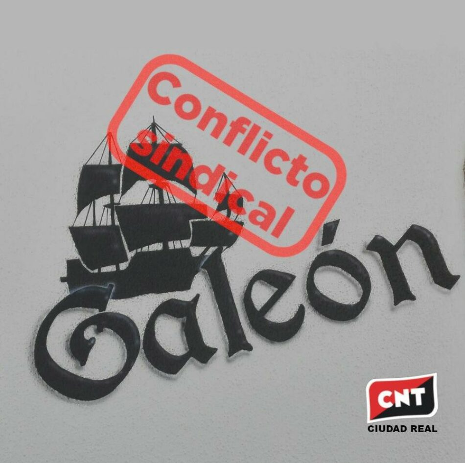 CNT inicia un conflicto sindical con el Bar El Galeón de Alcázar de San Juan