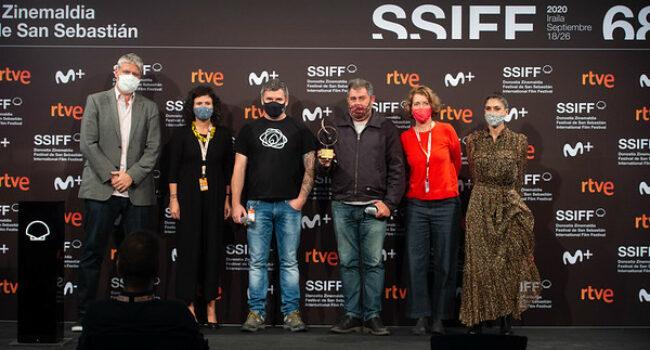"""""""Urtzen"""" gana el premio Lurra de Greenpeace en San Sebastián"""