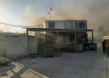 ACNUR plantea un refuerzo al apoyo a los refugiados tras el incendio del campo de refugiados de Moria