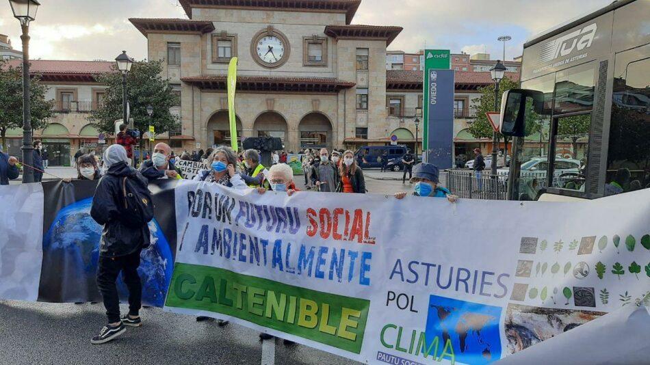 Más de treinta de ciudades se movilizan por la justicia climática