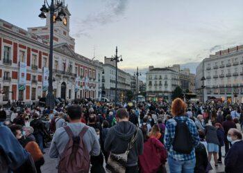 Los municipios y distritos de Madrid afectados por el confinamiento selectivo se movilizan en protesta