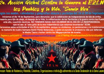 CGT exige al Estado de México el fin de la «guerra contra el EZLN» y la «persecución de las comunidades zapatistas»