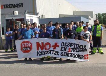 El PCE-EPK Navarra denuncia el ERTE de TRENASA «con 9500 millones de euros de pedidos»