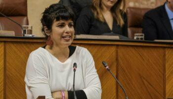Teresa Rodríguez donará sus dietas a una causa social ante la negativa del Parlamento a renunciar durante el permiso de maternidad