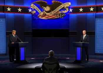 Circo y vergüenza, así califican primer debate presidencial en EE.UU.