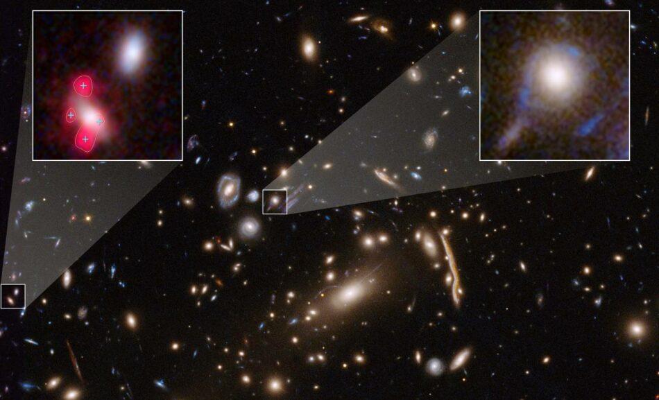 Un misterioso 'exceso' de lentes gravitacionales en cúmulos galácticos cuestiona las hipótesis sobre la materia oscura