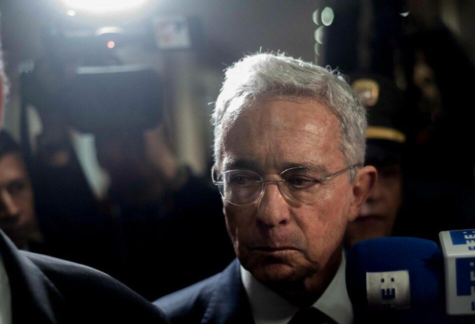La fiscalía colombiana rechaza la petición de libertad para Álvaro Uribe