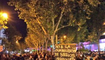 Multitudinaria marcha en Vallecas contra el maltrato institucional a los barrios obreros y la violencia policial