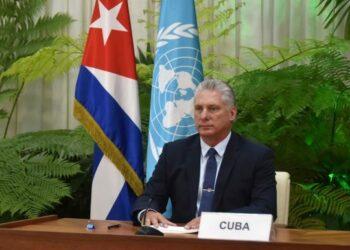 Es un imperativo impulsar la solidaridad y la cooperación internacional