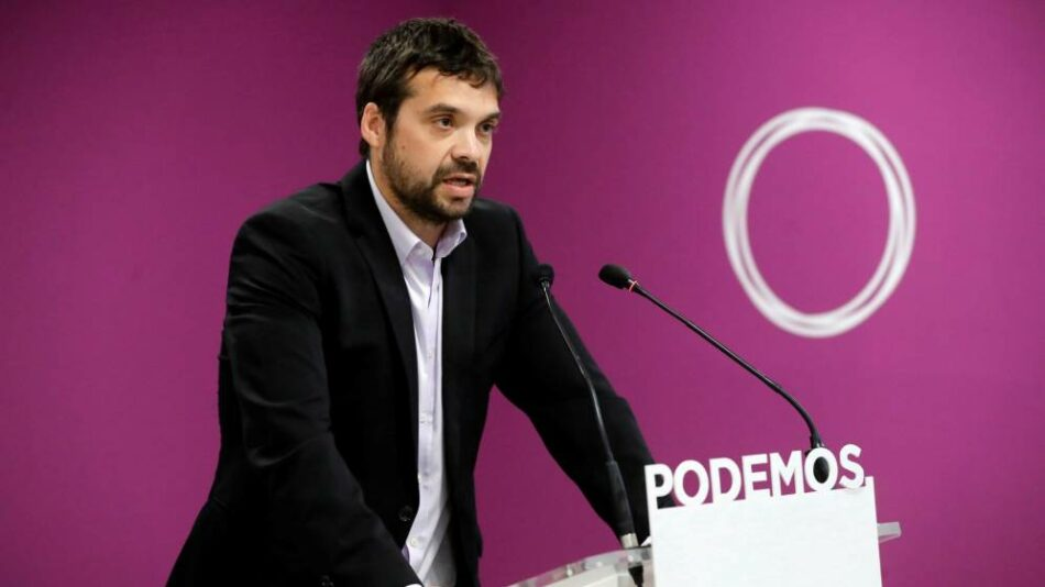 """Podemos propone un plan para frenar los contagios frente al """"Gobierno del desastre"""" de Ayuso"""