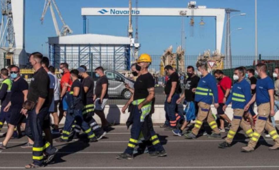 CGT asegura que la Huelga General en el sector del metal en la Bahía de Cádiz es ya imparable
