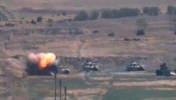 Combates entre Armenia y Azerbaiyán dejan al menos 39 muertos