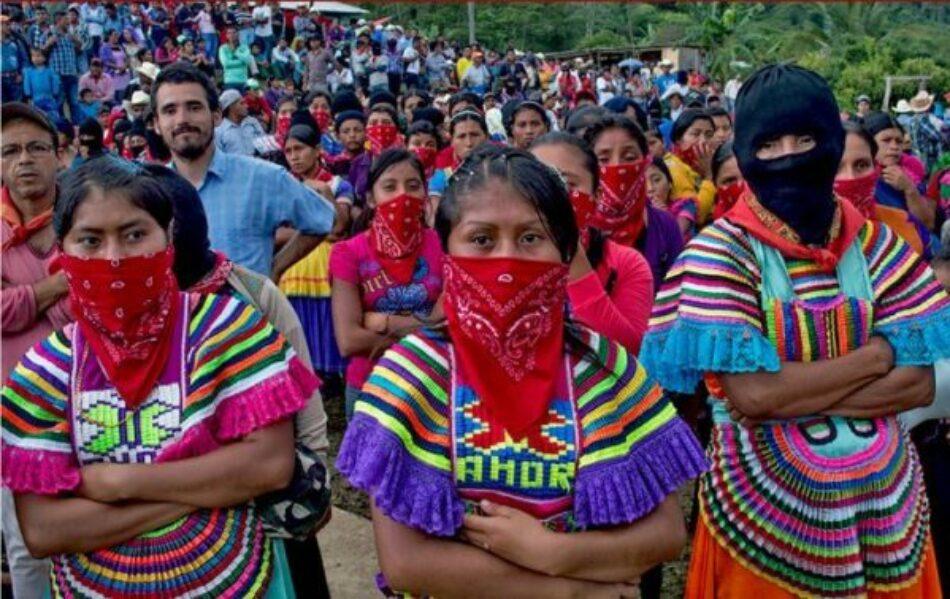 Colectivos nacionales e internacionales se solidarizan con mujeres zapatistas en Chiapas