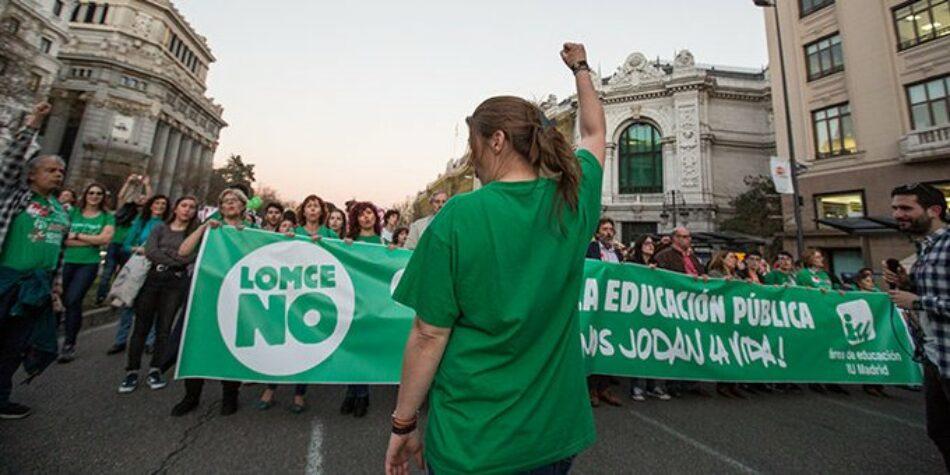 """Izquierda Unida muestra su """"especial satisfacción"""" por el medio centenar de enmiendas que Unidas Podemos ha registrado en solitario para mejorar el texto de la LOMLOE"""
