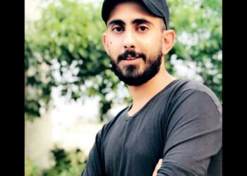 El estudiante palestino Nizar Issa Qaddoumi secuestrado a la fuerza por las fuerzas de ocupación israelíes