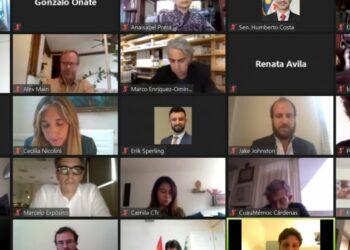 El Grupo de Puebla mantiene un encuentro con la Internacional Progresista para abordar la crisis de la observación electoral en América Latina