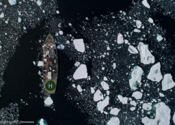 El Ártico en declive: el hielo marino alcanza otro mínimo histórico