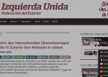 IU Exterior estrena su web en siete idiomas con motivo del Día Internacional de la Traducción
