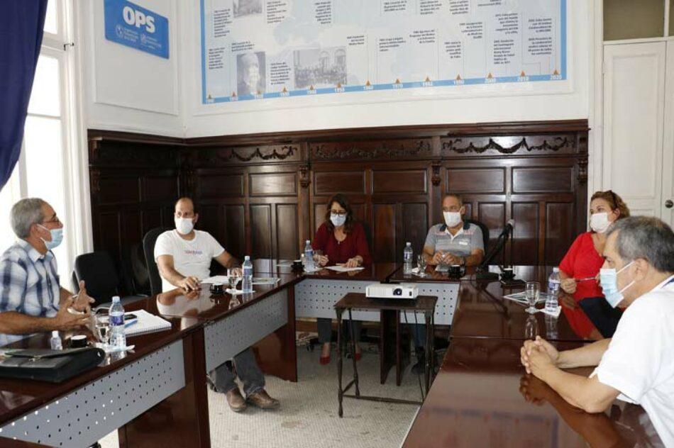 Cuba presenta a OMS y OPS avances del candidato vacunal Soberana 01