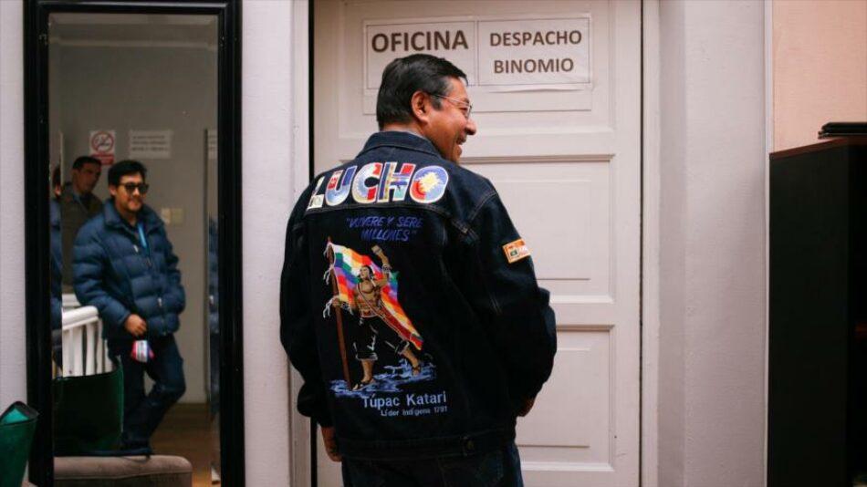 Luis Arce: Morales no estará en el Gobierno, será mi Gobierno