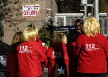 Comienzan las huelgas en el servicio de emergencias 112 Andalucía