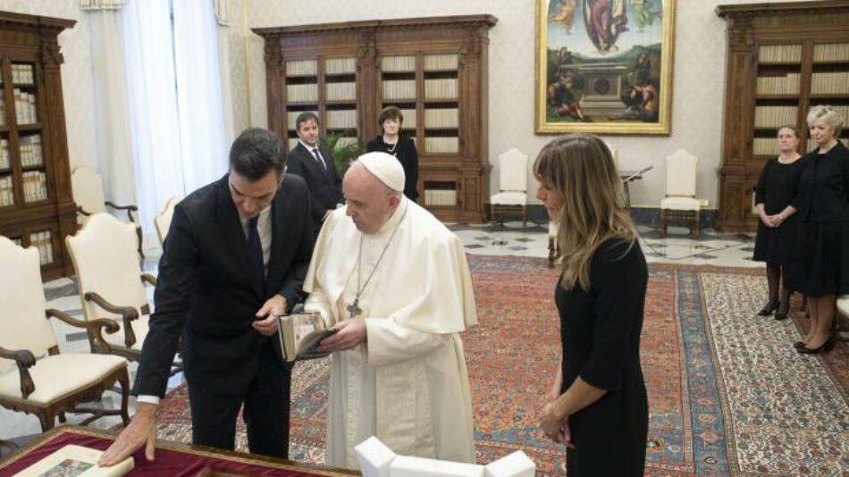 Concentración autorizada el 28 de octubre frente al Congreso: «Exigimos la denuncia y derogación de los Acuerdos con el Vaticano»