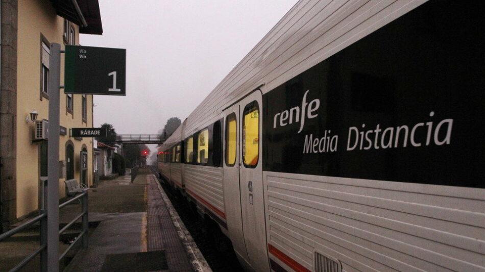Esquerda Unida reúnese co sector ferroviario de Comisións Obreiras para abordar a situación na que se atopa o servizo de ferrocarril en Galicia