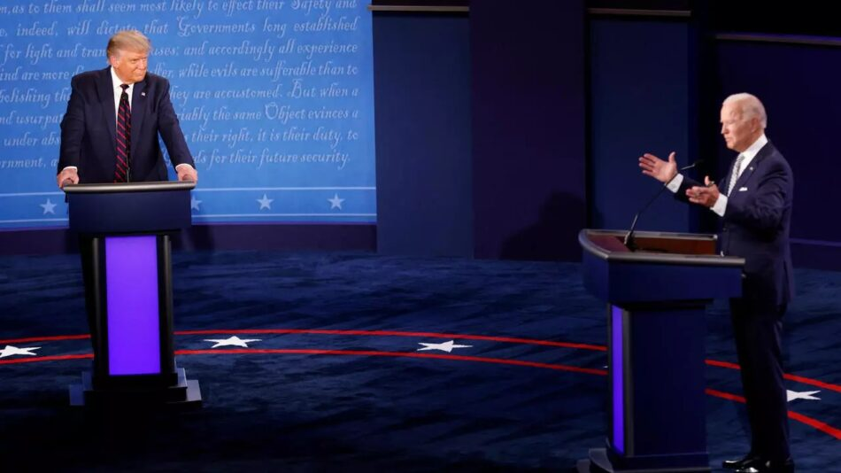 Cancelan segundo debate presidencial entre Trump y Biden