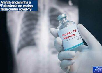 Denuncian en Brasil venta de vacuna falsa contra Covid-19