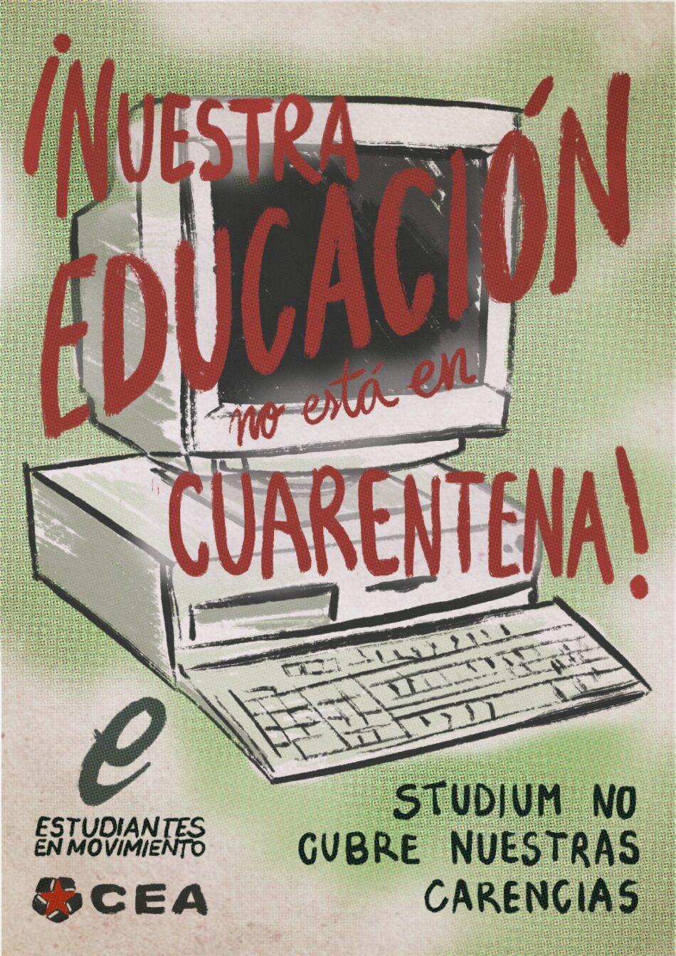 El Colectivo Estudiantil Alternativo (CEA) exige que la USAL mantenga la presencialidad a pesar del confinamiento de Salamanca