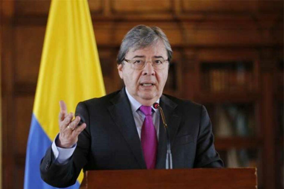 Ministro de Defensa de Colombia enfrentará moción de censura