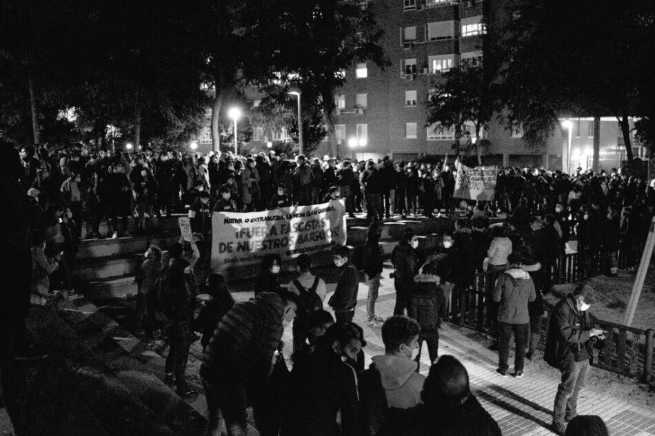 San Blas se moviliza en contra de las agresiones racistas y los discursos de odio