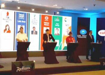 Concluye el primer debate presidencial en Bolivia con temas económicos como eje central